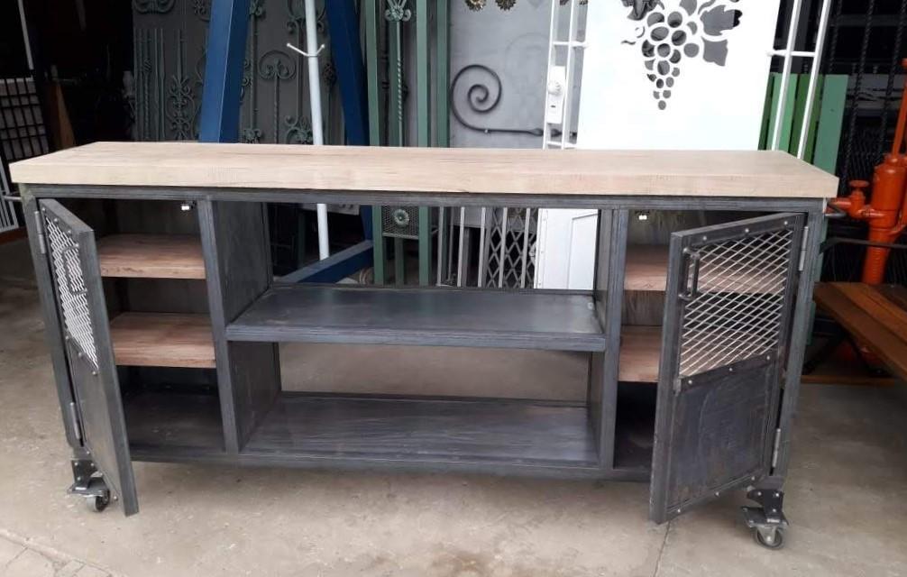 """Barra de hierro """"copera"""", estilo industrial"""