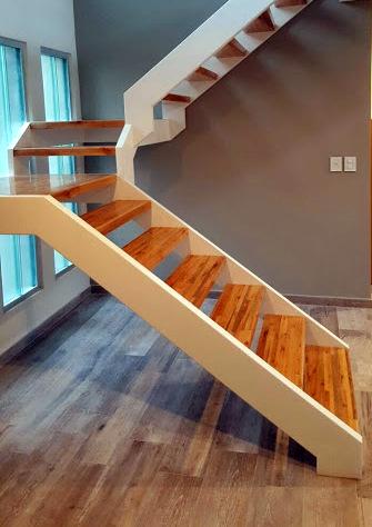 Escalera interior...diseño moderno